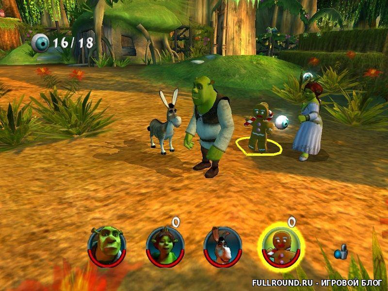 Shrek 2 the game скачать игру